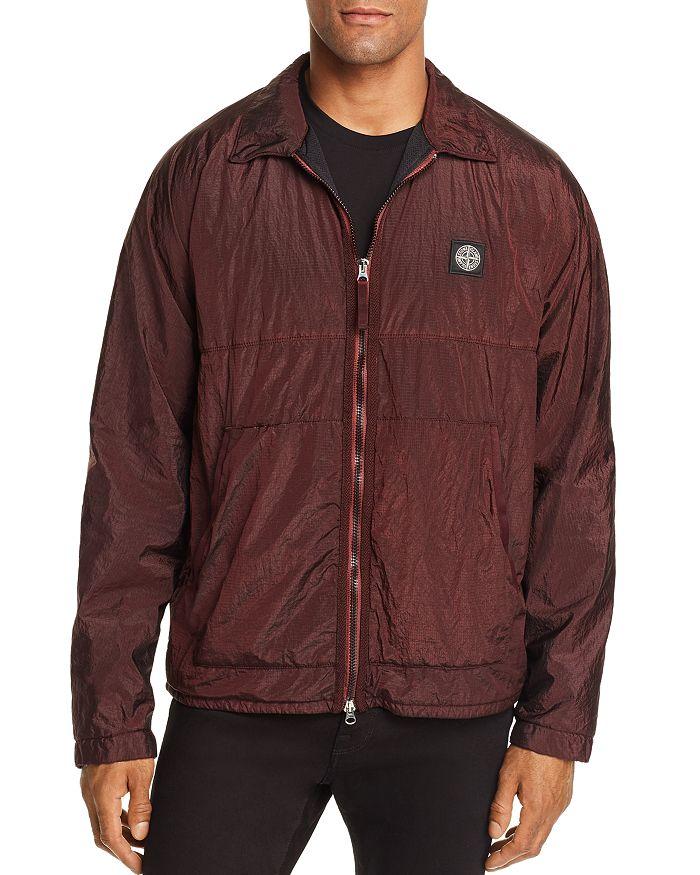 Stone Island - Metallic Nylon Shirt Jacket