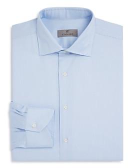 Canali - Narrow-Stripe Regular Fit Dress Shirt