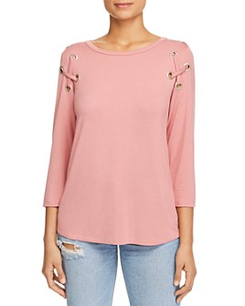 Alison Andrews - Crisscross-Shoulder Top