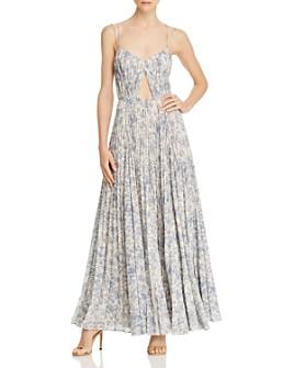 Amur - Lucy Floral Sleeveless Maxi Dress