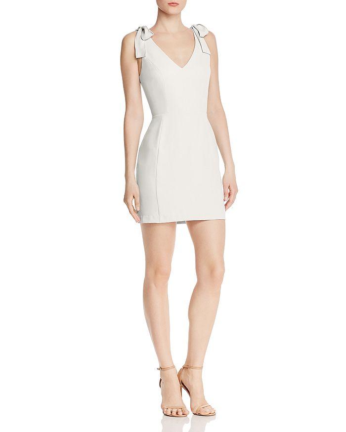 Amanda Uprichard - Allora V-Neck Mini Dress