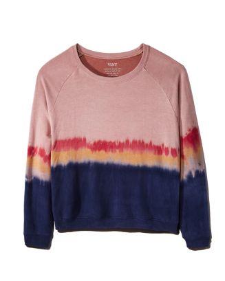 Jamie Tie Dye Sweatshirt by Velvet By Graham & Spencer