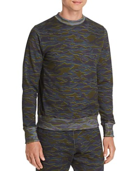PS Paul Smith - Camouflage-Print Sweatshirt