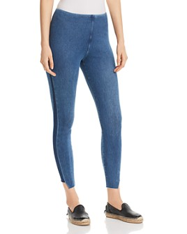 Lyssé - Gwen Mixed-Wash Denim Leggings