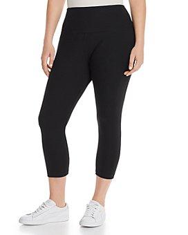 Lyssé Plus - Cotton Stretch Cropped Leggings