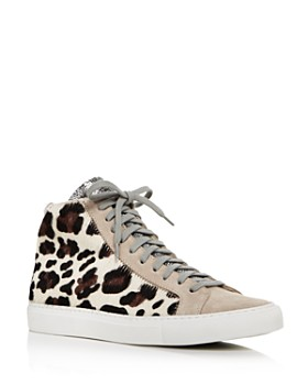 P448 - Women's F9STAR 2.0 Mixed Media High-Top Sneakers