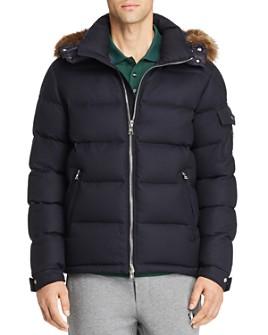 Moncler - Allemand Fur-Trimmed Wool Down Jacket