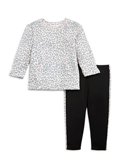 Splendid - Girls' Leopard Sweatshirt & Leggings Set, Baby - 100% Exclusive