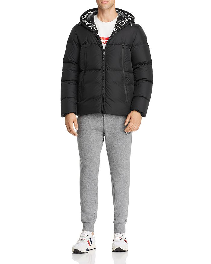 Moncler - Montcla Down Jacket, Maglia Supreme-Logo Graphic Tee, and Logo Graphic Sweatpants