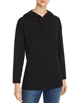 Eileen Fisher - Long Hooded Top