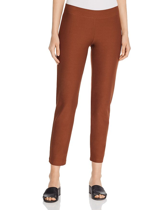 Eileen Fisher - Slim Pull-On Pants