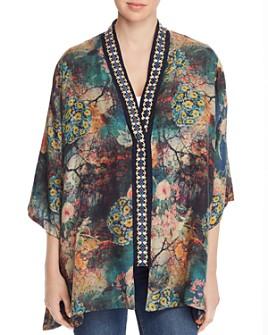 Johnny Was - Traviata Reversible Silk Kimono