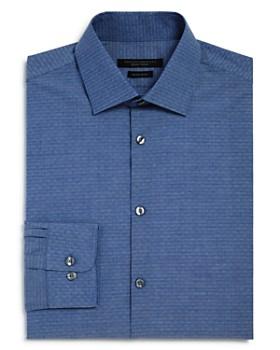 John Varvatos Star USA - Dobby Solid Regular Fit Dress Shirt