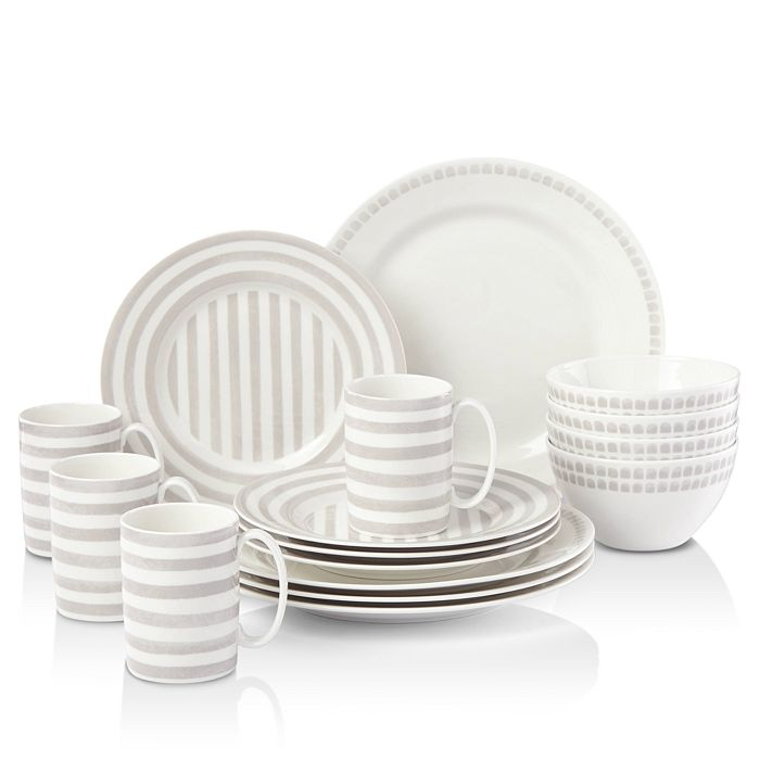 kate spade new york - Charlotte Street North Dinnerware Set, 16 Piece