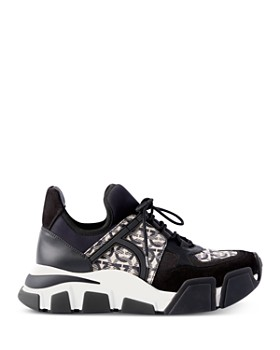 Salvatore Ferragamo - Women's Gancini Low Top Sneakers