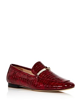 kate spade new york - Women's Lana Croc-Embossed Loafers