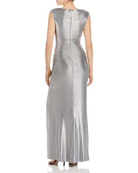 Ralph Lauren - Sleeveless Metallic Gown