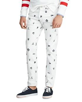Polo Ralph Lauren - Sullivan Slim Fit Jeans in White