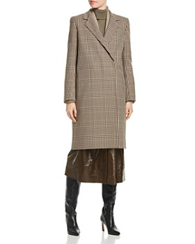 Lafayette 148 New York - Emmalyse Check-Patterned Wool Coat