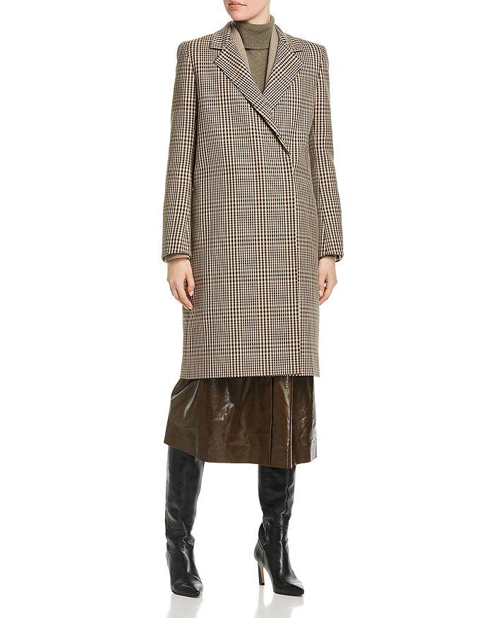 Lafayette 148 New York - Emmalyse Check-Patterned Wool Coat