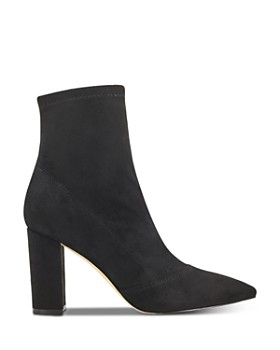 Marc Fisher LTD. - Women's Pointed Toe Block Heel Booties