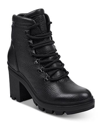 Marc Fisher LTD. - Women's Kini Block Heel Hiker Booties