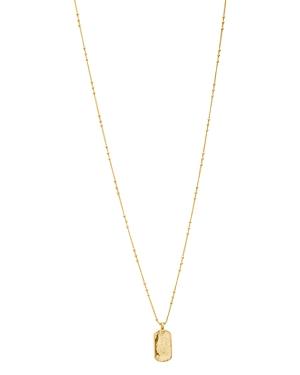 Gorjana Griffin Dog Tag Necklace, 18-Jewelry & Accessories