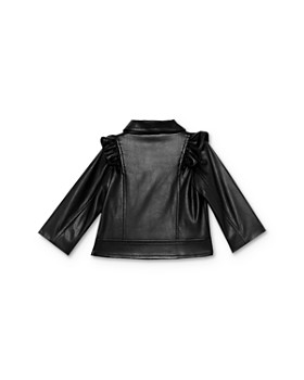 Bardot Junior - Girls' Chloe Ruffled Faux-Leather Jacket - Baby