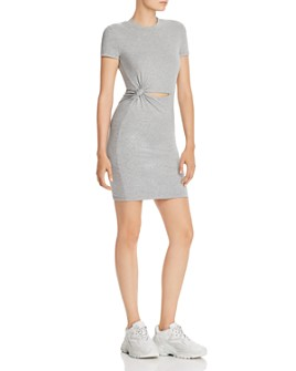 alexanderwang.t - Cutout T-Shirt Dress