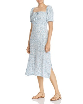 Faithfull the Brand - Majorelle Floral Midi Dress