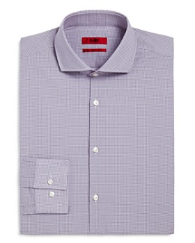 HUGO - Micro Dot Circle Slim Fit Dress Shirt