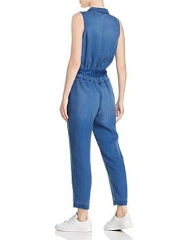 Bella Dahl - Denim-Look Button-Front Jumpsuit