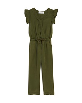 Bella Dahl - Girls' Flutter-Sleeve Jumpsuit - Little Kid, Big Kid