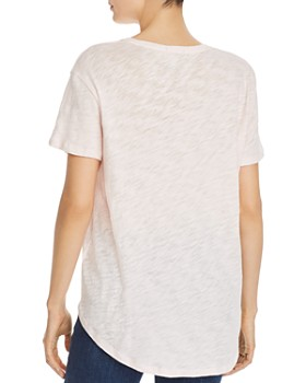 ATM Anthony Thomas Melillo - Oversize V-Neck Tee