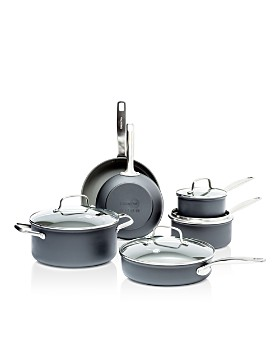 GreenPan - Chatham 10-Piece Ceramic Nonstick Cookware Set