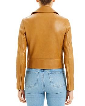 Theory - Leather Moto Jacket