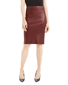 Theory - Leather Pencil Skirt