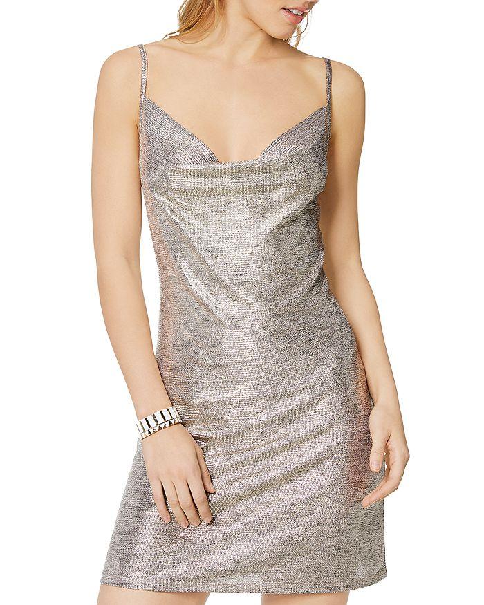 Ramy Brook - Jac Sleeveless Metallic Mini Dress