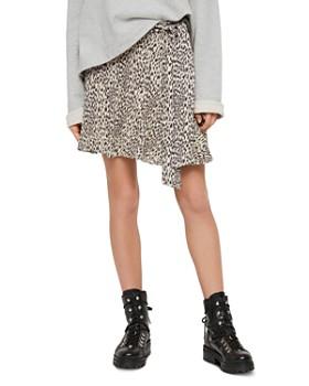 dbf74d1d32d02e ALLSAINTS - Frida Leopard Print Skort ...