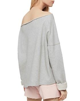 ALLSAINTS - Senia Off-the-Shoulder Sweatshirt
