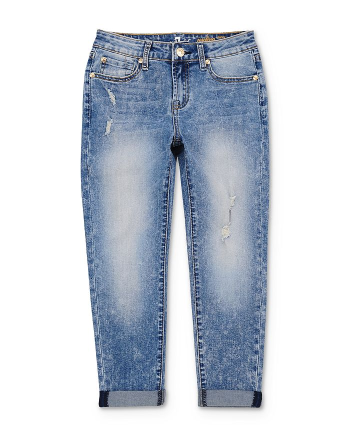 7 For All Mankind - Girls' Josephina Distressed Jeans - Big Kid