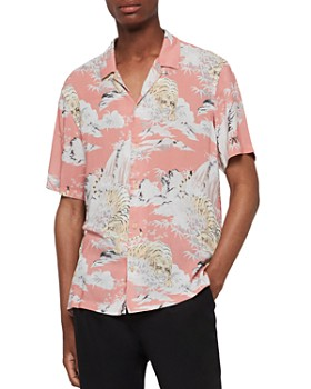 7604a9fbd ALLSAINTS - Borneo Slim Fit Shirt ...