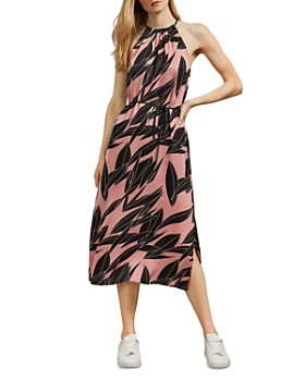 Ted Baker - Leahla Sour-Cherry-Print Midi Dress