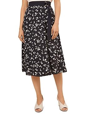 Scarlett Printed Faux-Wrap Skirt