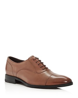 Paul Smith - Men's Covent Leather Cap-Toe Oxfords