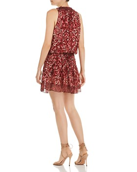 Ramy Brook - Winsten Leopard-Print Silk Dress