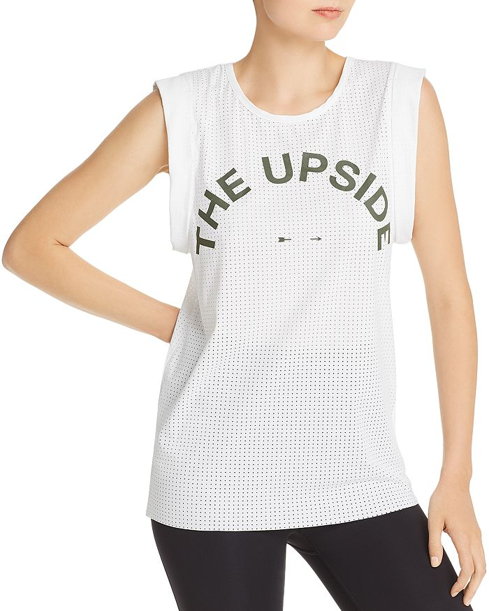 THE UPSIDE - Mesh Logo Tank - 100% Exclusive