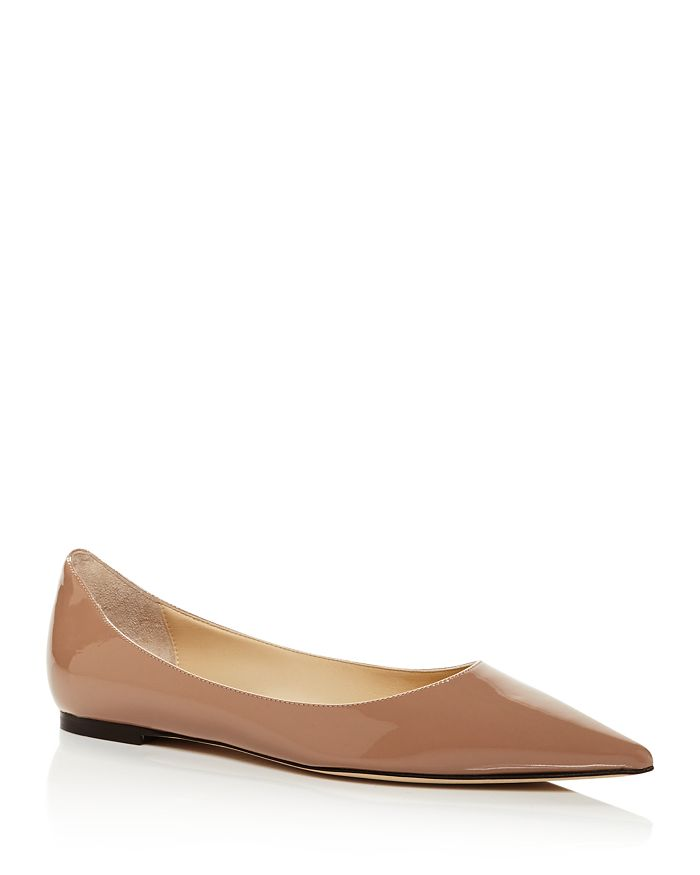 Jimmy Choo - Women's Love Pointed Toe Ballet Flats