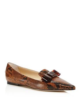 Jimmy Choo - Women's Gala Pointed Toe Flats