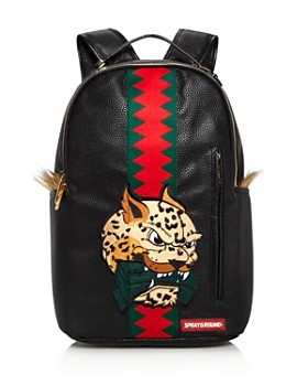 Sprayground - Boys' Leopard-Monkey Backpack